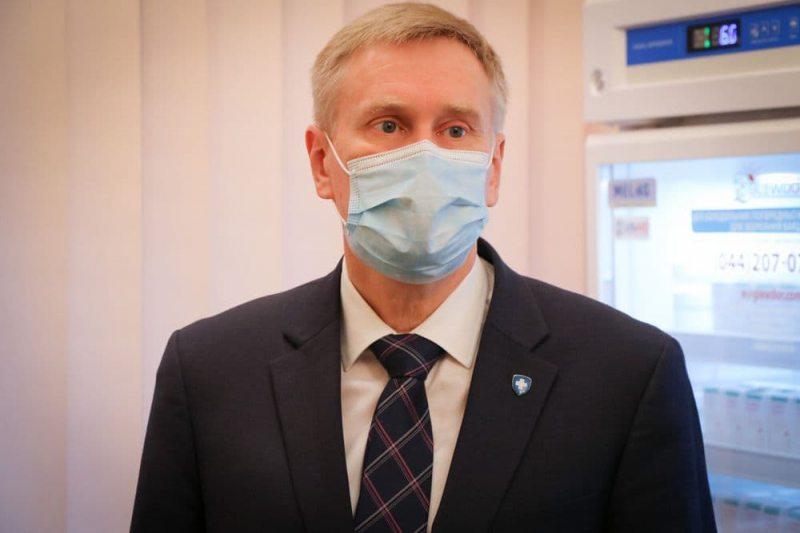 Голова НСЗУ високого оцінив роботу головного лікаря Херсонщини
