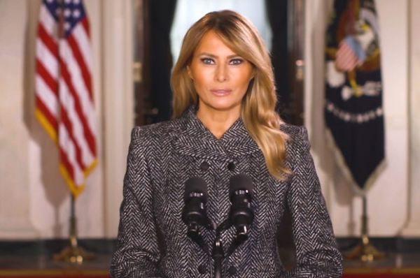 Меланія Трамп виголосила останню промову в якості першої леді США
