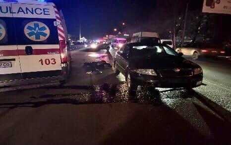У Херсоні 26-річний водій збив пішохода