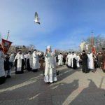 В праздник Крещения Господня митрополит Херсонский и Таврический Иоанн освятил воды Днепра