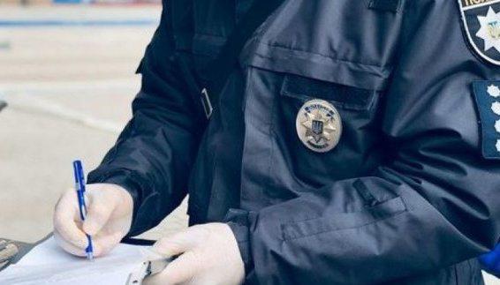 На Херсонщині правоохоронці зареєстрували майже 900 випадків порушень правил карантину