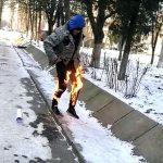 В Херсоні поліція перевіряє інформацію щодо факту самоспалення