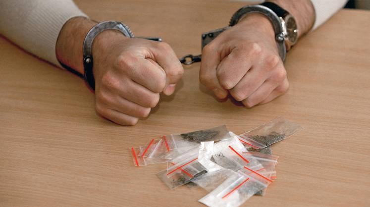 Поліцейські вилучили у жителя Херсонщини пістолет і наркотики