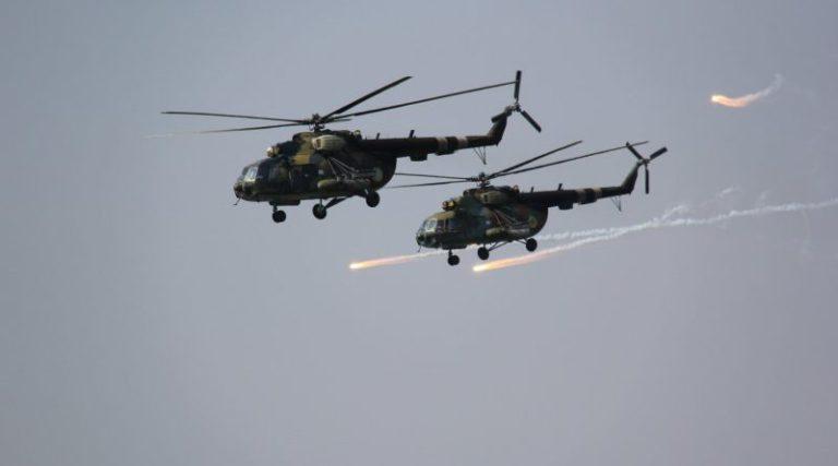 На Херсонщині екіпажі армійської авіації відпрацювали елементи взаємодії з тактичним повітряним десантом
