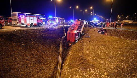 В аварії рейсового автобуса Познань-Херсон загинули шестеро українців