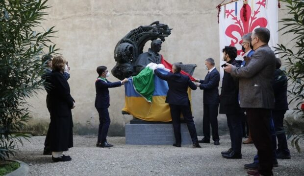 У центрі Флоренції відкрили пам'ятник Тарасу Шевченку