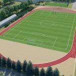 У Чорнобаївці будують стадіон для ігрових видів спорту