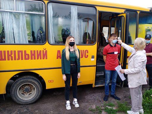 На Херсонщині учасників ЗНО підвозитимуть на автобусі до пунктів тестування