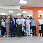 Олександр Самойленко зустрівся з випускниками, які склали ЗНО на 200 балів