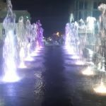 Ігор Колихаєв запустив світлодіодний фонтан до Дня міста
